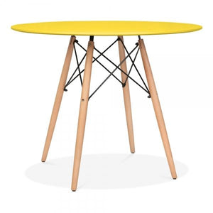 Yellow Modern Dining Table