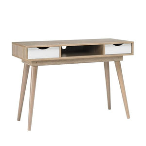 White Scandi Desk