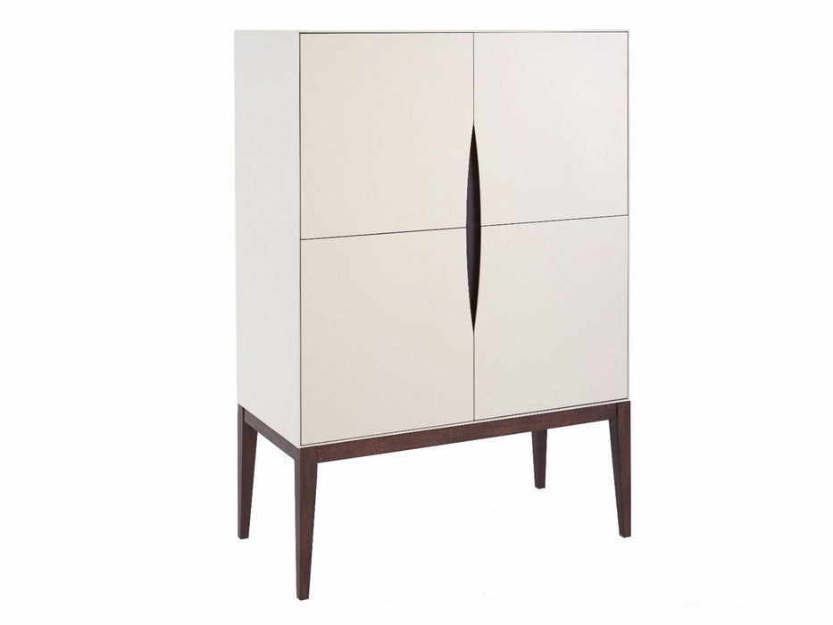 Shadow White Gillmore Tall Sideboard