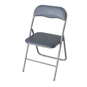Silver Folding Chair