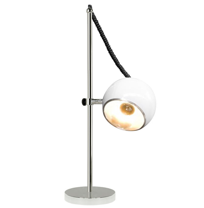 White Modern Kokoon Moon Multi-Use Lamp TL00040WH