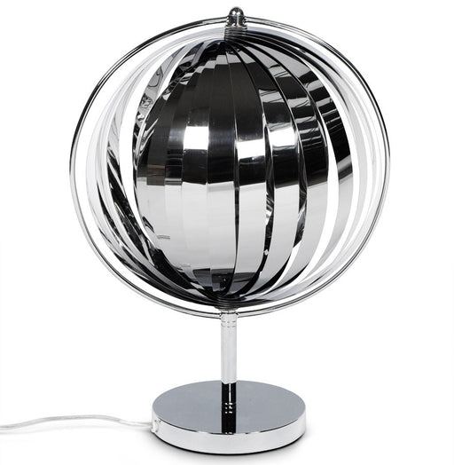 Chrome Modern Kokoon Nina Small Office Lamp TL00070CH