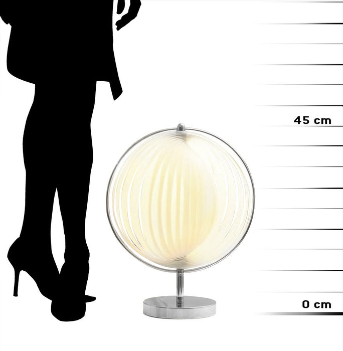 White Designer Kokoon Nina Small Office Lamp TL00090WH