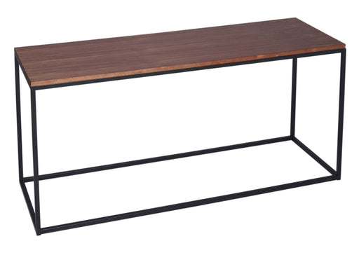 Walnut & Black Gillmore TV Stand