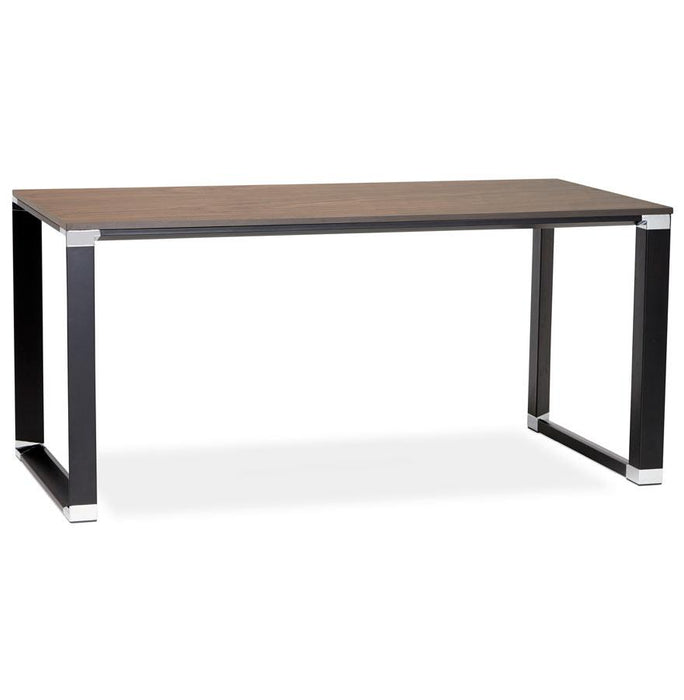 Walnut & Black Warner Office Desk