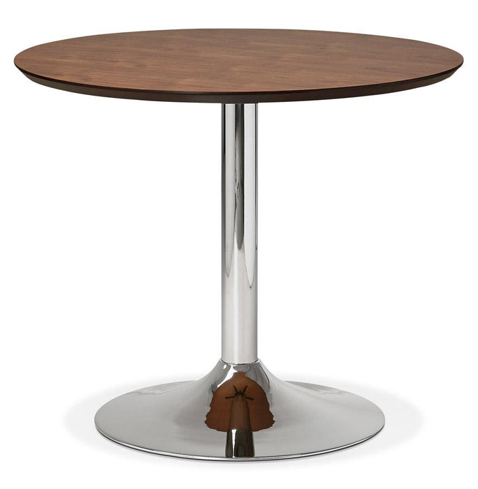 Walnut Modern Bleta 90 Dining Table