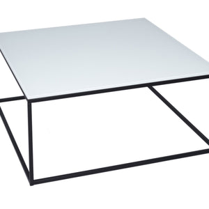 White & Black Gillmore Square Coffee Table
