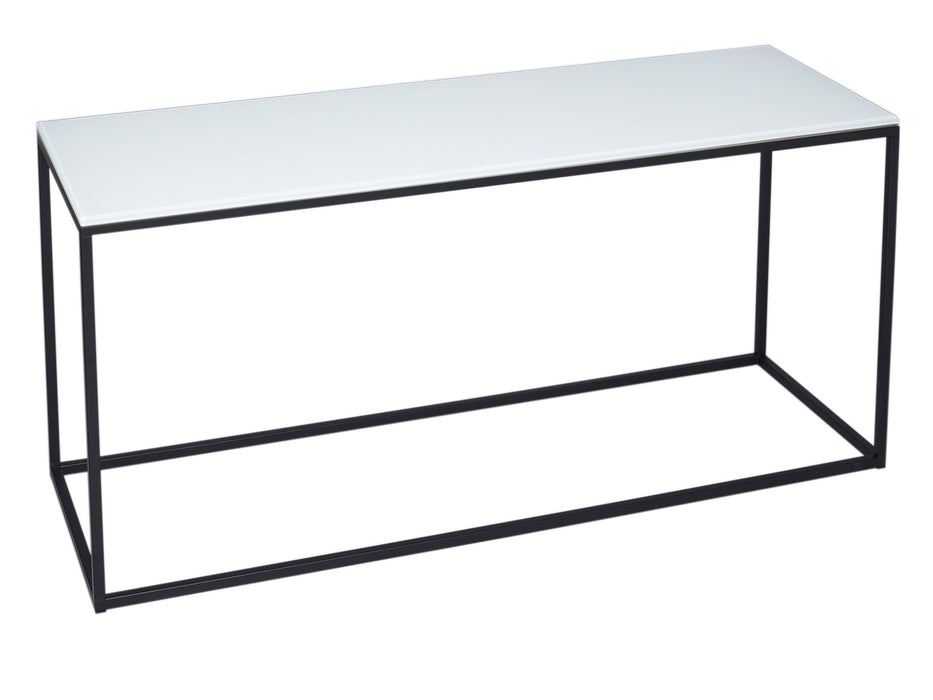 White & Black Gillmore TV Stand