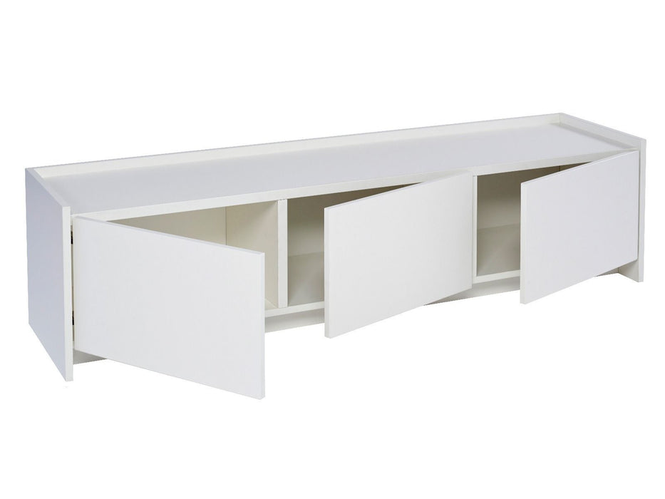 White Gillmore TV sideboard