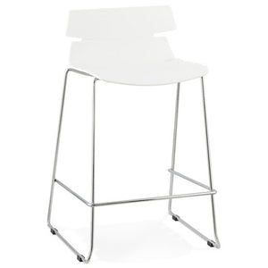 White Design Bar Stool BS01330WH