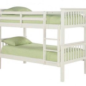 White Leo Bunk Bed