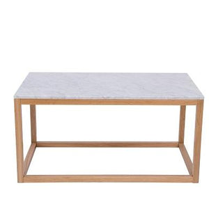White Marble Harlow Coffee Table