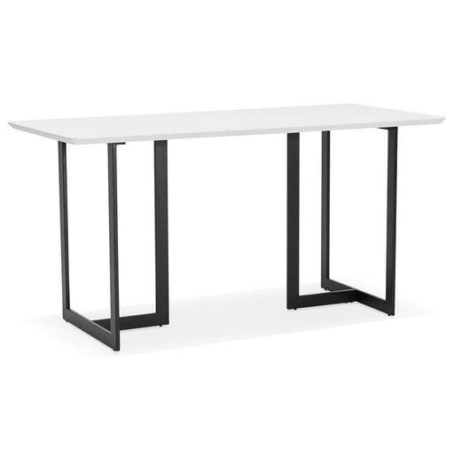 White Modern Dorr Office Desk