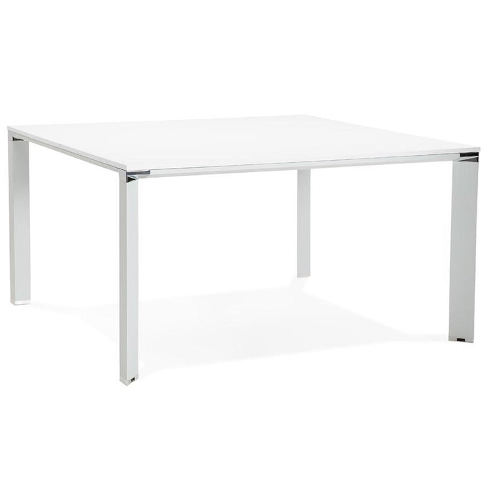 White Modern Efyra Office Desk