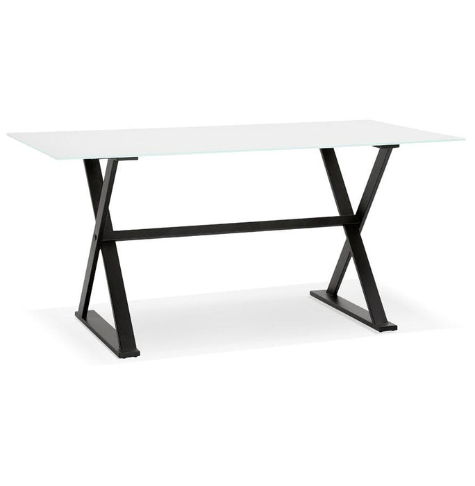 White Modern Maud Office Desk