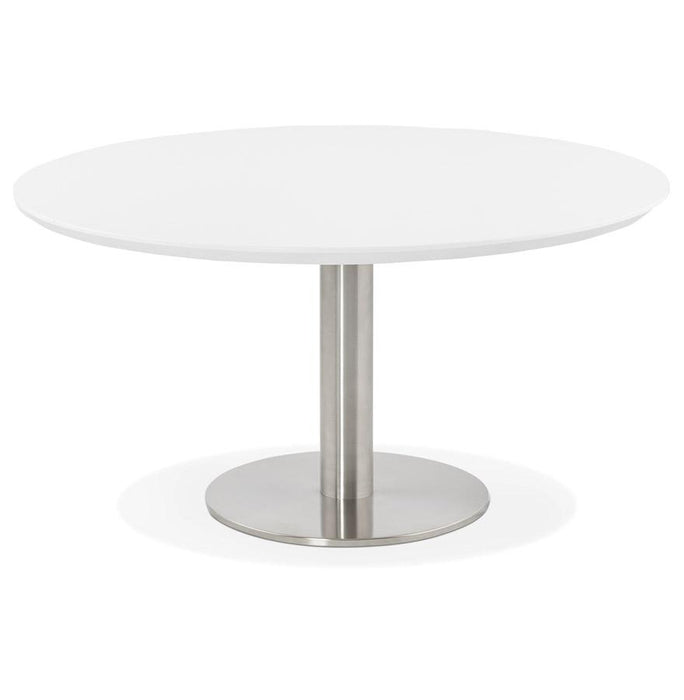 White Modern Stud Coffee Table