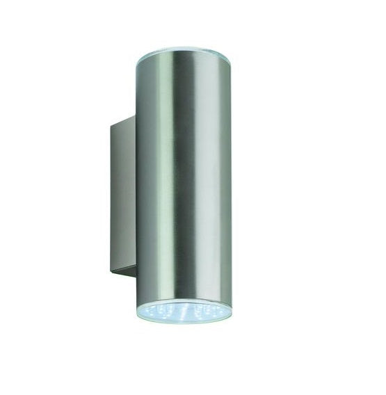 White Rome Outdoor LED Wall Light