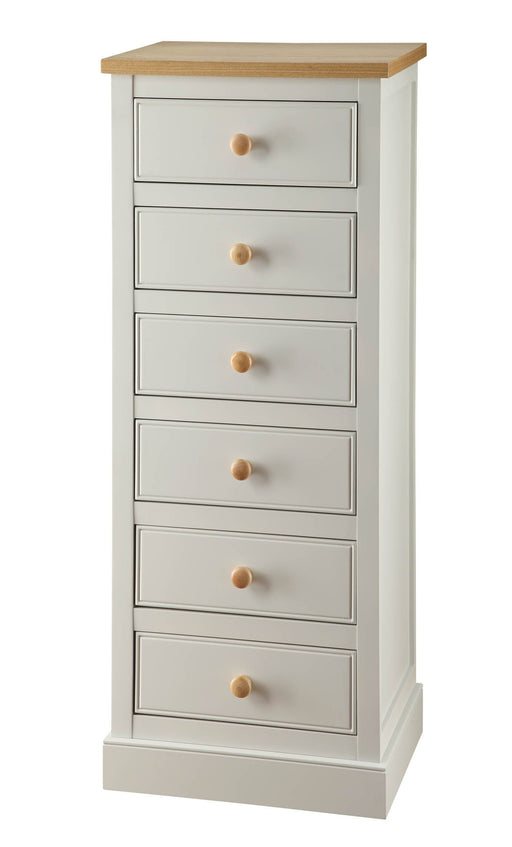 White St Ives 6 Drawer Chest