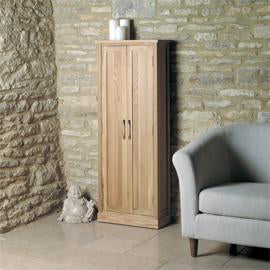 Mobel Oak DVD Storage Cupboard COR17B