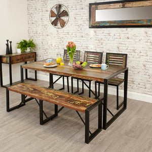 Urban Chic Dining Table Large IRF04B