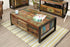 Urban Chic 4 Door 4 Drawers Large Coffee Table IRF08B