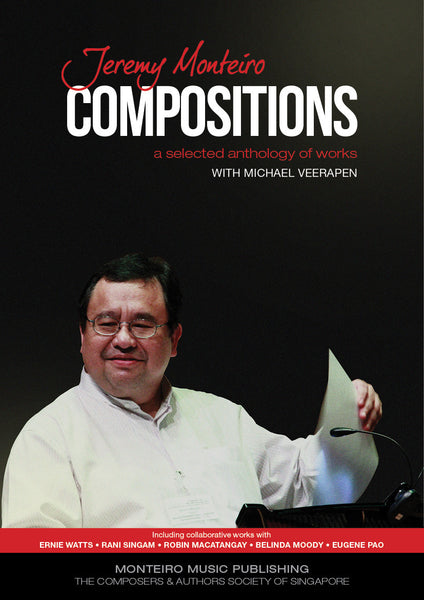 "Jeremy Monteiro ""Compositions"" Book"