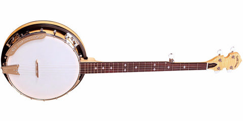 GOLDTONE CC-100R Cripple Creek Banjo with Resonator (Five String, Clear Maple)