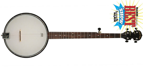 Goldtone AC-1 5-String Openback Banjo with Gig Bag