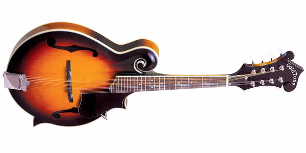 GOLDTONE GM-35 F-Style Mandolin with Case
