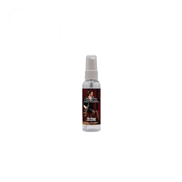 On Stage - Mouthpiece Cleanser & Case Freshener (2oz)