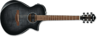 IBANEZ AEWC400 Trasnparent Black Sunburst