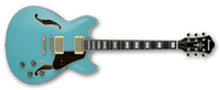 Ibanez Artcore Series AS73G Semi-Hollow Body Electric Guitar Mint Blue