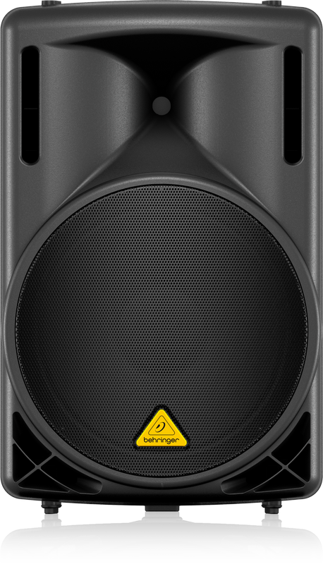 "EUROLIVE B215D Active 550-Watt 2-Way PA Speaker System with 15"" Woofer and 1.35"" Compression Driver"