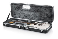 Gator Deluxe Molded LED electric guitar Case