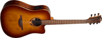 LAG TRAMONTANE 118 Dreadnought Cutaway Dark Brown