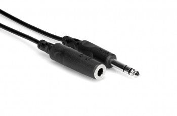 Headphone Extension Cable 1/4 in TRS to 1/4 in TRS
