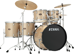 Tama Imperialstar 5 Piece With Cymbals Champagne burst