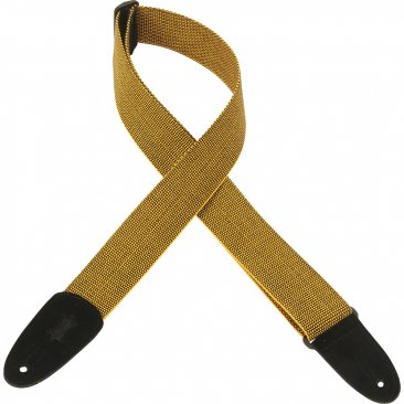 LEVY'S MT8 Yellow Guitar Strap