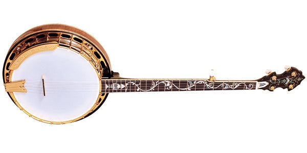 "GoldTone OB-300: Orange Blossom Banjo ""The Gold-Plated Beauty"""