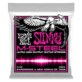 SUPER SLINKY M-STEEL ELECTRIC GUITAR STRINGS