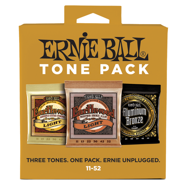 Ernie Ball Acoustic Tone Pack 11-52