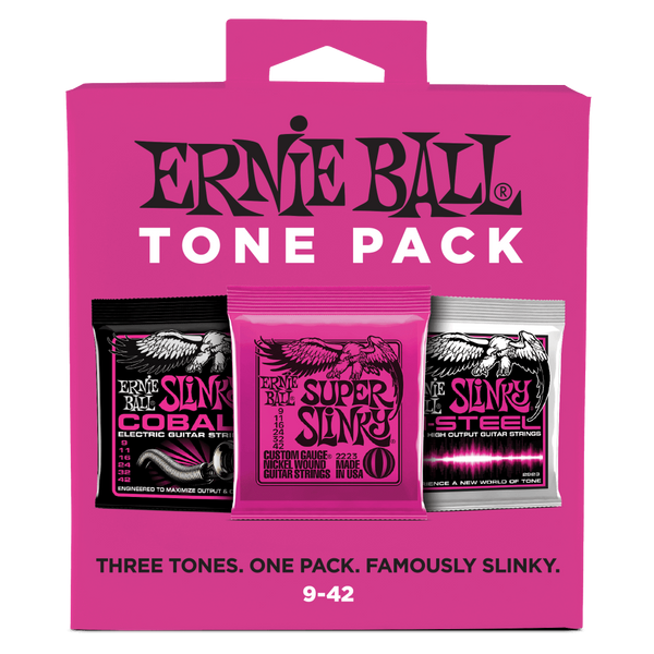 Ernie Ball Electric Tone Packs 9-42