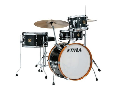 "Tama Club-JAM 4-Piece Shell Pack w/ 18"" Bass Drum - Charcoal Mist"