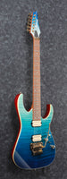Ibanez RG High Performance Electric Guitar - Blue Reef Gradation