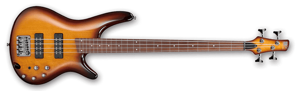 SR370EFBBT Brown Burst Fretless Bass