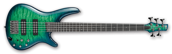 SR405EQM Surreal Blue Burst Gloss 5-String