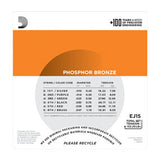 EJ15 Phosphor Bronze, Extra Light, 10-4