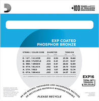 EXP16 Coated Phosphor Bronze, Light, 12-53