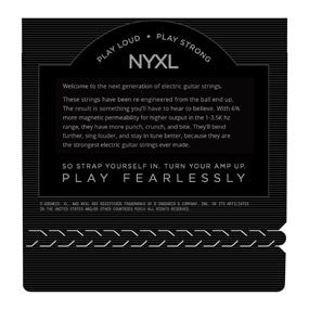 NYXL1052 Nickel Wound Electric Guitar Strings, Light Top / Heavy Bottom, 10-52