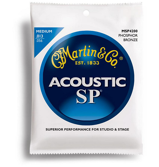 MARTIN SP ACOUSTIC STRINGS PHOSPHOR STRINGS